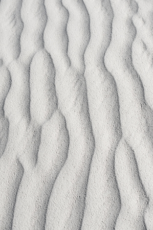 white sands national monument: Ripples in the White Sands National Monument