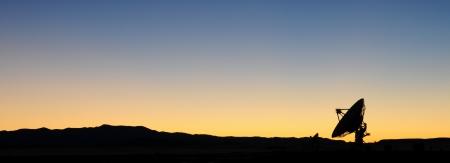 The Very Large Array near Socorro, New Mexico.