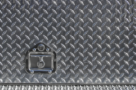 Lock on used a diamond plate Stock Photo - 17048516