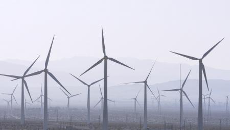 Windfarm near Palm Springs, California.