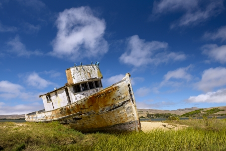 The Wreck of the Point Reyes National Seashore  Stock Photo