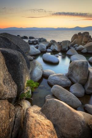 sand harbor: Sand Harbor at Lake Tahoe, Nevada
