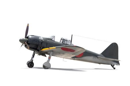 avion de chasse: Mitsubishi A6M Z�ro Seconde Guerre mondiale