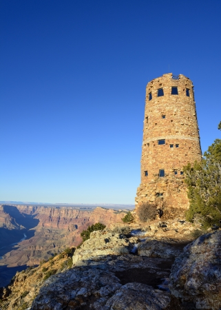 wildwest: Watchtower at Desert View Overlook of the Grand Canyon National Park