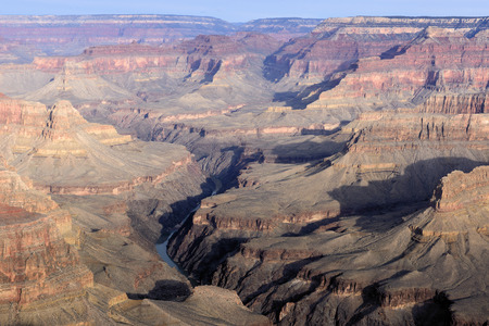 Colorado River in the Grand Canyon National Park  photo