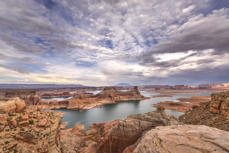 Lake Powell view from  Alstrom point in Glen Canyon National Recreation area  photo