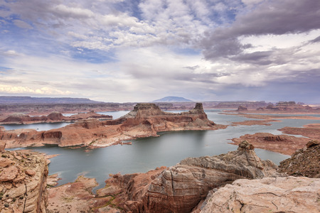 Lake Powell view from  Alstrom point in Glen Canyon National Recreation area