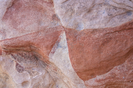 rock strata: Croseup image of sandstone in Valley of Fire State Park, Nevada.