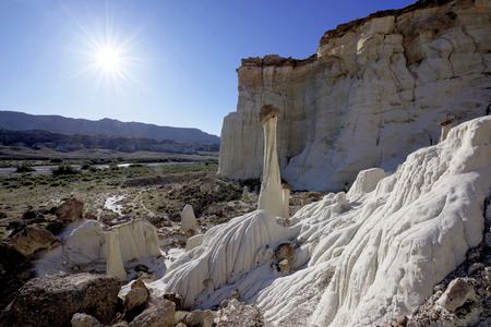 ghost rock: Wahweap Hoodoos in Grand Staircase-Escalante National Monument,USA