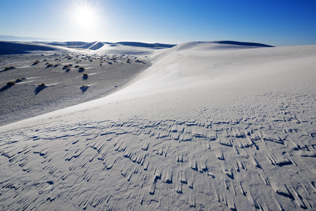 Sand Dune at White Sands National Park