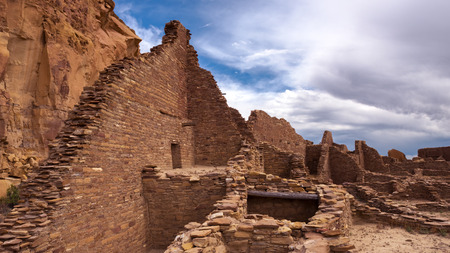 anasazi ruins: Pueblo Bonito, Chaco Culture National Historical Park