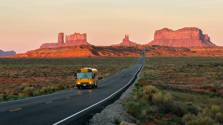rock formation: Monument Valley Stock Photo
