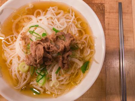 Vietnamese rice noodles Zdjęcie Seryjne