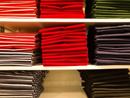 Colorful Fabric Zdjęcie Seryjne