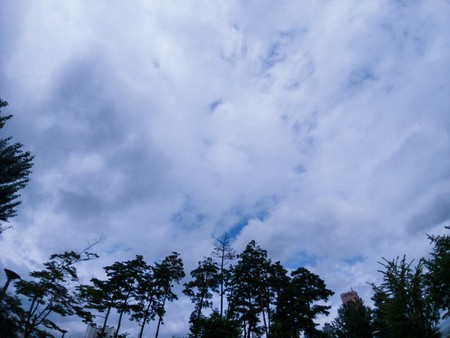 Sky and land