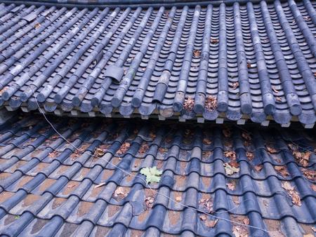 Koreas traditional roof Zdjęcie Seryjne