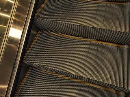 Escalator close-up