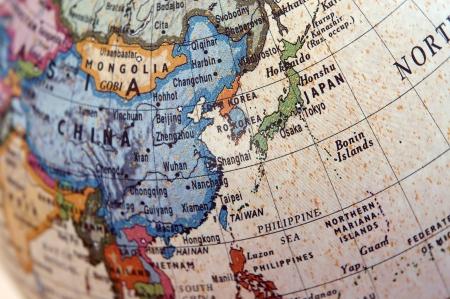 Globe (East Asia) Stock Photo - 10999379