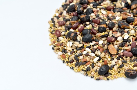 The close-up of mixed rice. (16 kinds of cereals) Stock Photo - 17083271