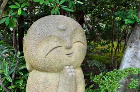 kamakura: The Nagomi Jizo Hasedera Temple, Kamakura, Japan.