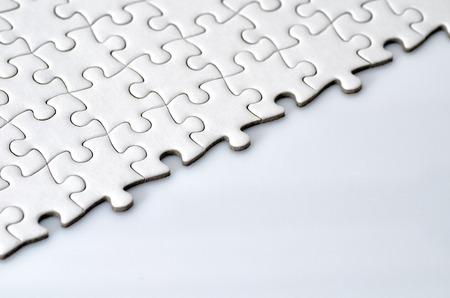 プレーンの白いジグソー パズル