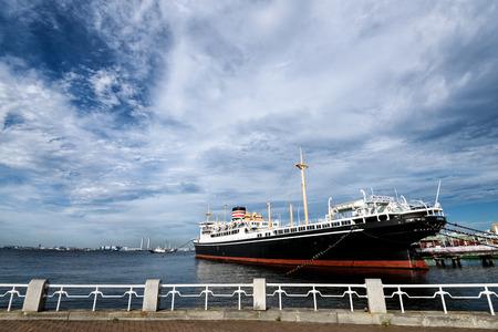 Hikawamaru that is anchored in Yamashita Park. Editorial