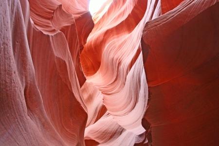 Navajo sandstone walls in Antelope Canyon, Arizona Stock Photo - 18998235