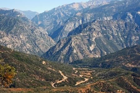 kings canyon national park: Kings Canyon National Park, California Stock Photo