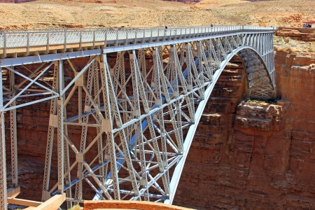 Navajo Bridge for pedestrian, Arizona photo