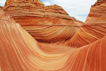 arizona landscape: The Wave - Arizona, landscape in Coyote Buttes North