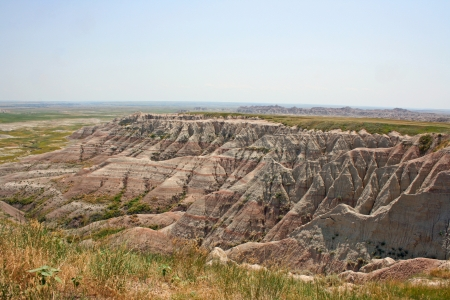 badlands: Badlands Stock Photo