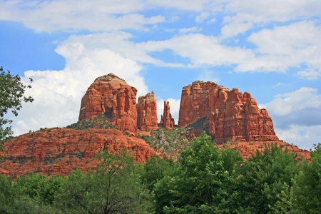 Cathedral Rock  스톡 콘텐츠