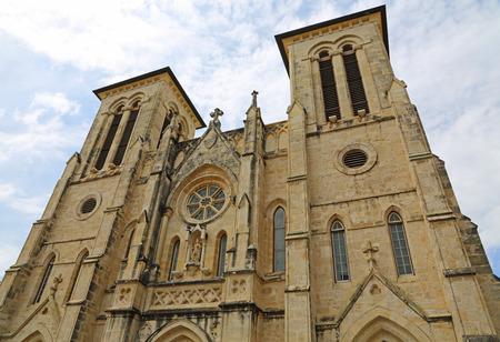 sacral: San Fernando cathedral, San Antonio, texas Stock Photo