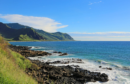 ka: Ka ena Point State Park, Oahu, Hawaii