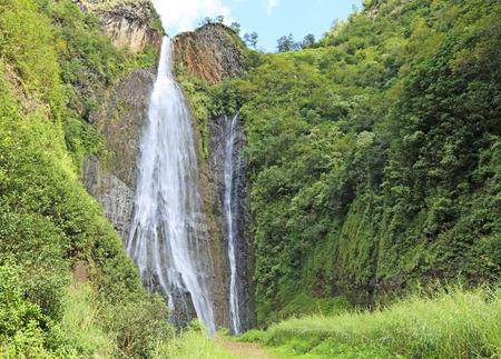 Trail to Manawaiopuna Falls, Kauai, Hawaii Stock fotó - 28265760