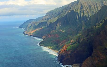 na: Na Pali coast, Kauai, Hawaii Stock Photo