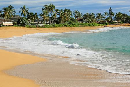 Makaha beach park, Oahu, Hawaii