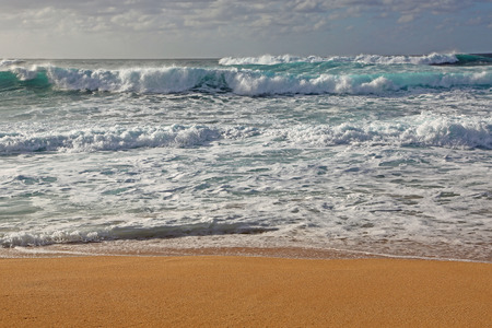 north shore: Waves of North Shore, Oahu, Hawaii