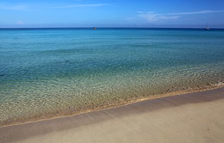 mile: 7 Mile Beach, Negril, Jamaica Stock Photo