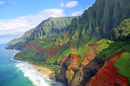 Na Pali Coast, Kauai, Hawaii photo