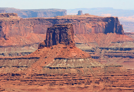 Eroded monument in Canyonlands National Park, Utah