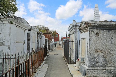 St Louis Cemetery No  1- New Orleans, Louisiana photo