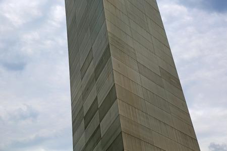 Gateway Arch close up, St Louis Missouri