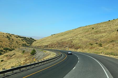 deadman: Driving on Deadman Pass, Oregon