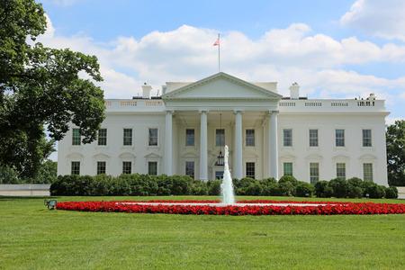 casa blanca: La casa blanca, en Washington DC  Foto de archivo
