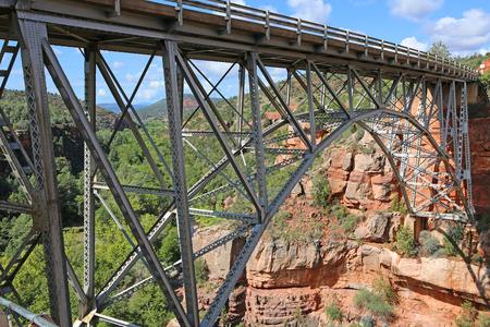 Midgley Bridge close up (north side)- Sedona, Arizona