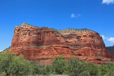 butte: Courthose Butte, Sedona, Arizona