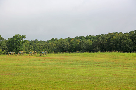Battlefield - Shiloh National Military Park, Tennessee