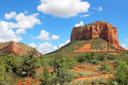sedona: Courthouse Butte, Sedona, Arizona Stock Photo