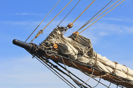 bowsprit: Bowsprit Stock Photo